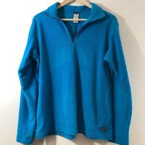 Patagonia Fleece Quarter Zip Pullover Size L